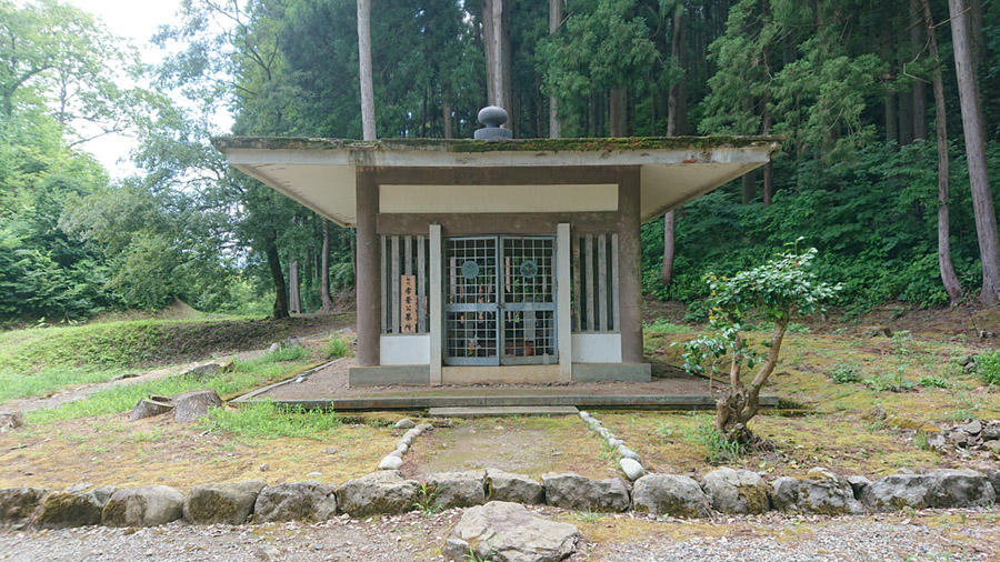 朝倉敏景墓所 英林塚