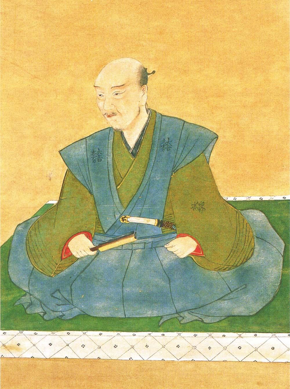 石田三成像(東京大学史料編纂所所蔵)
