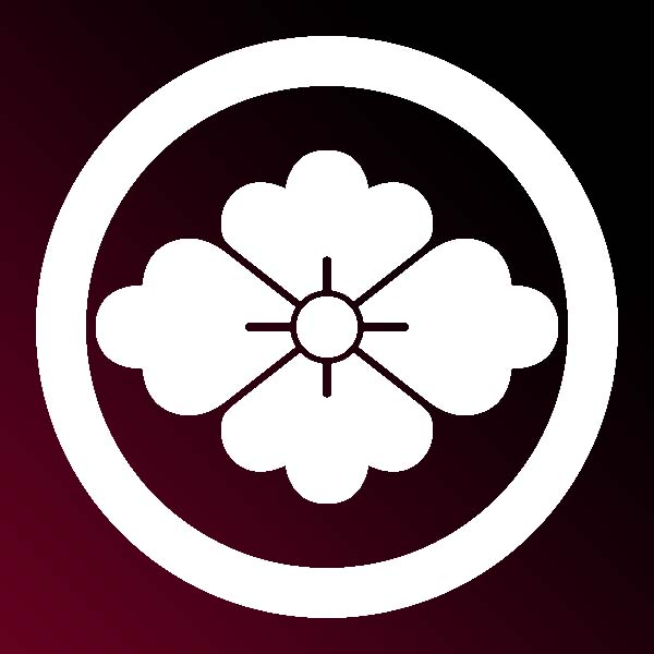 家紋:丸に花菱