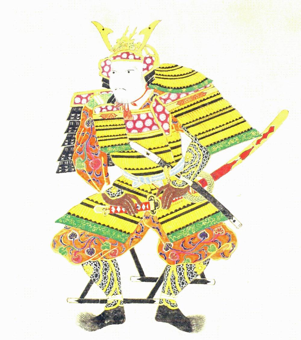 南部晴政像 (もりおか歴史文化館所蔵)