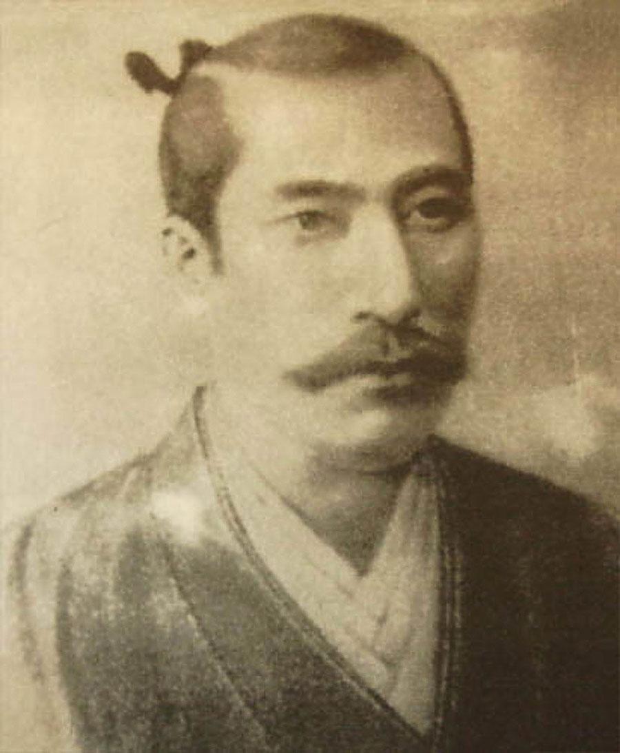 信長肖像画(三宝寺所蔵)