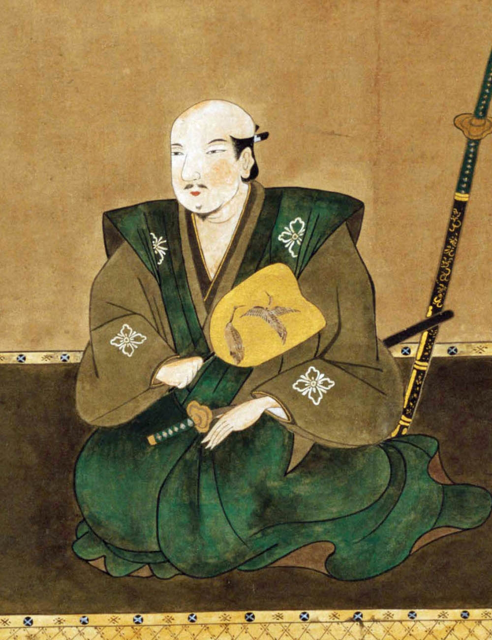 武田勝頼像(高野山持明院蔵)