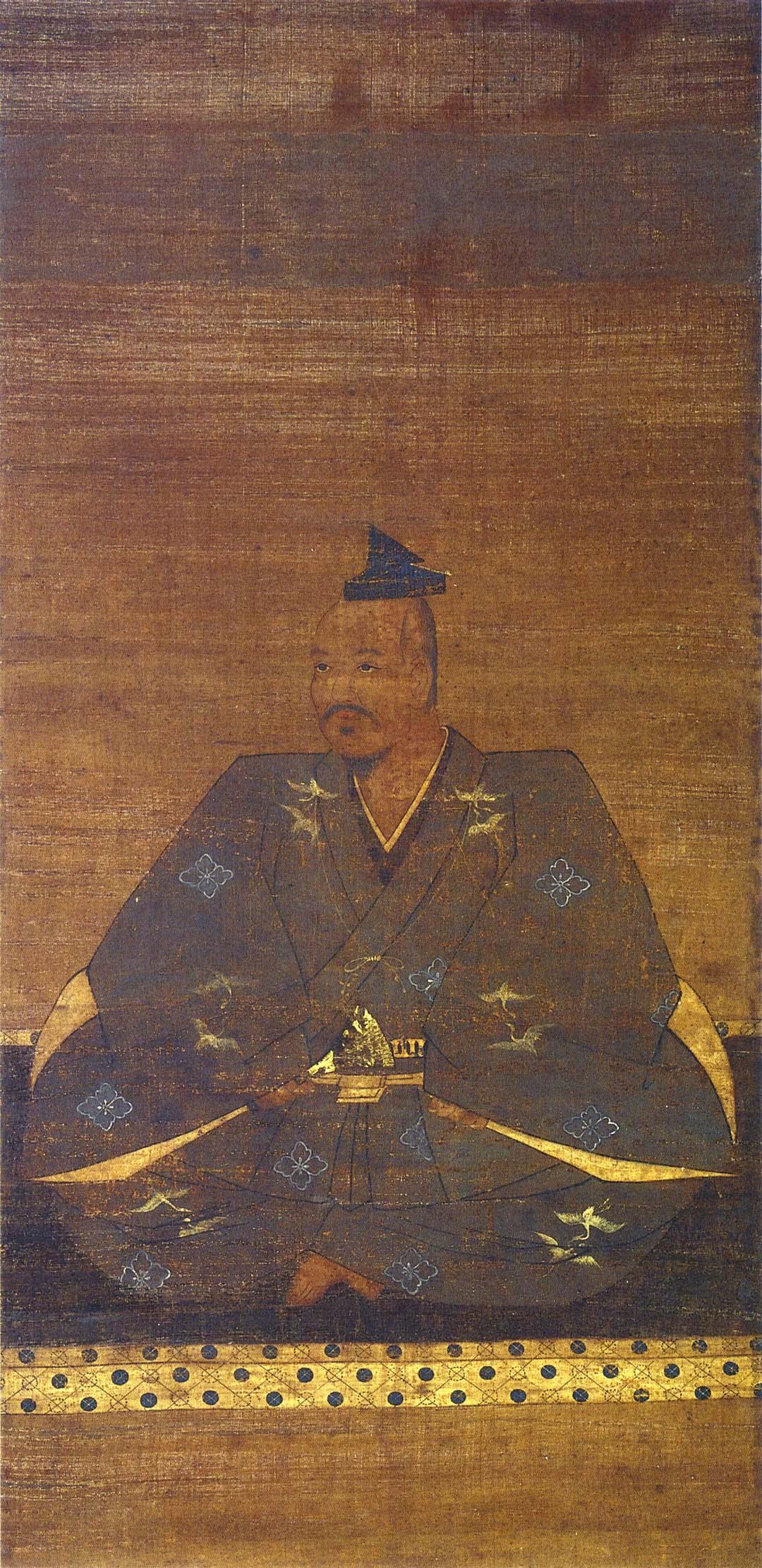 武田晴信像(高野山持明院蔵)