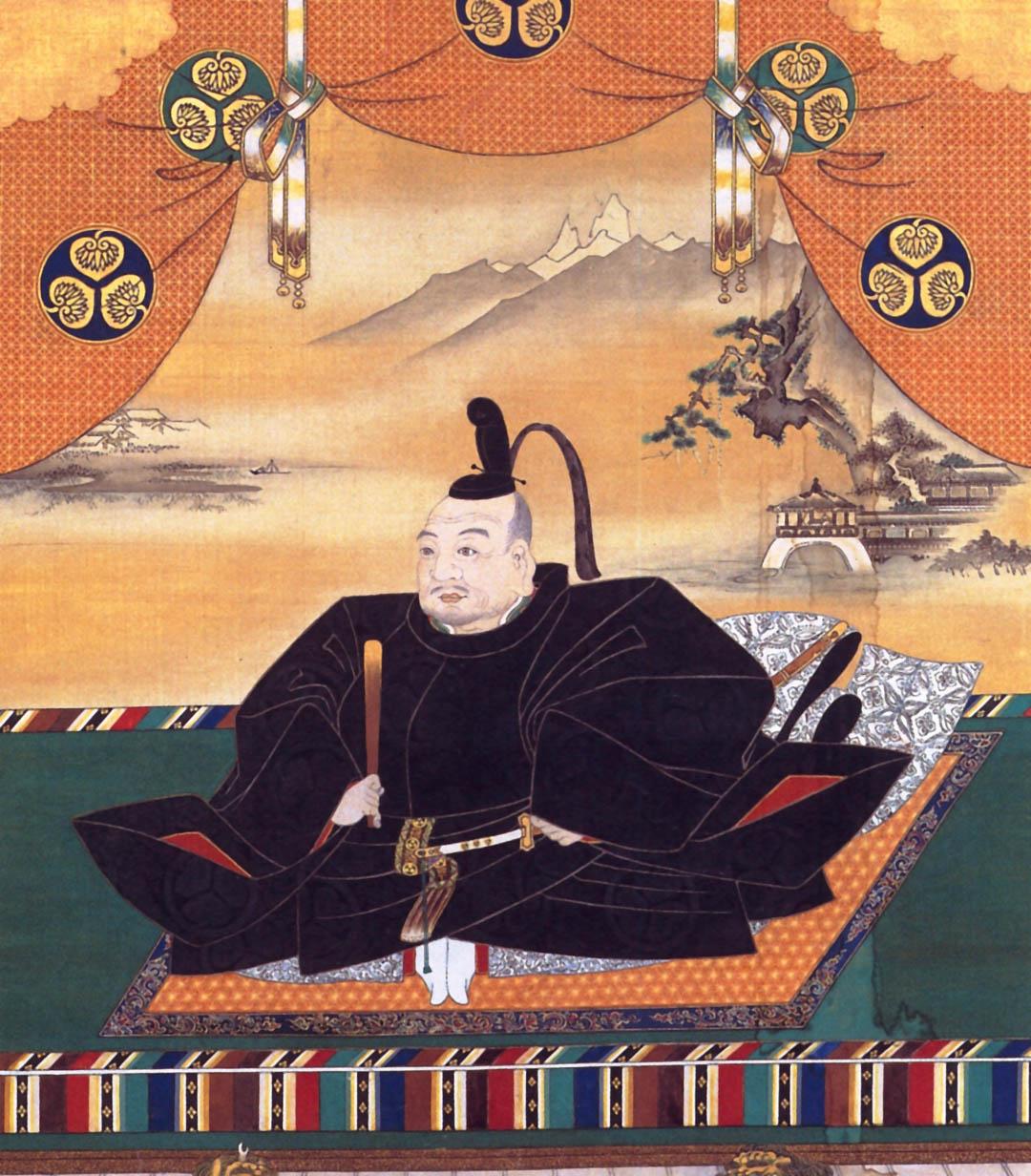 徳川家康像(狩野探幽画)